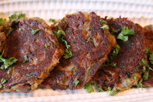Vegan Chickpea Patties