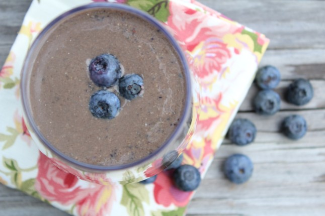Blueberry Chia Smoothie