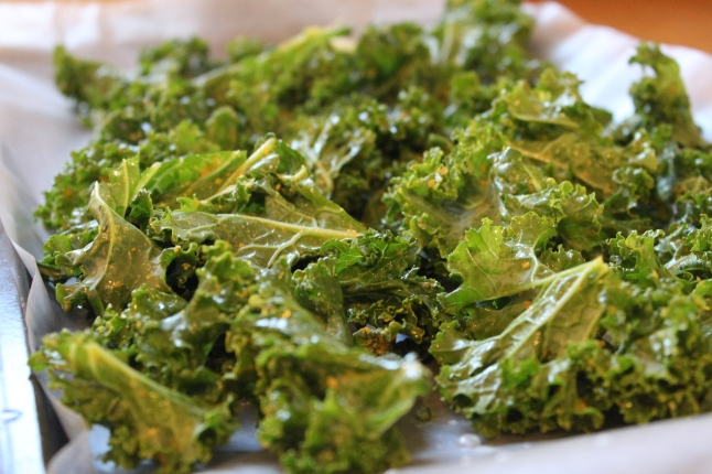 Kale Chips with Nooch