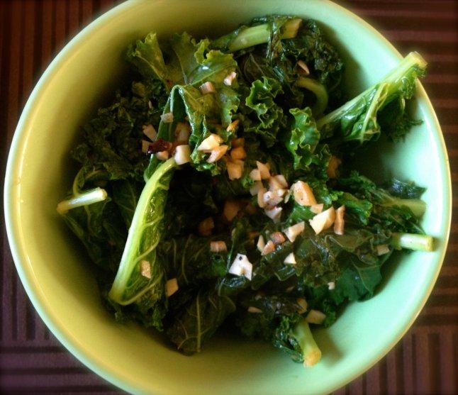 Lemony Kale