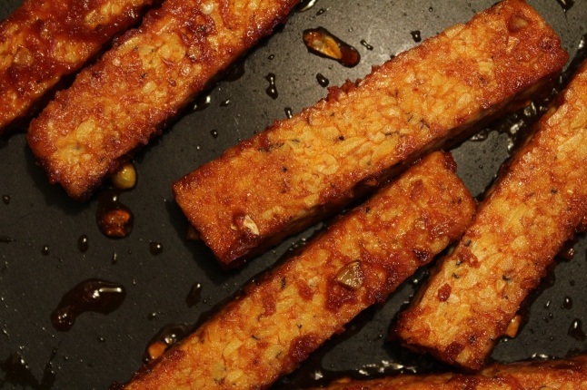 Sweet + Spicy Tempeh