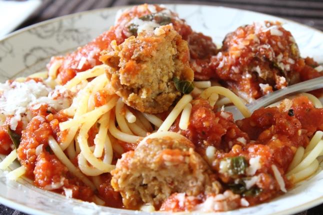 Vegan Spaghetti & Meatballs