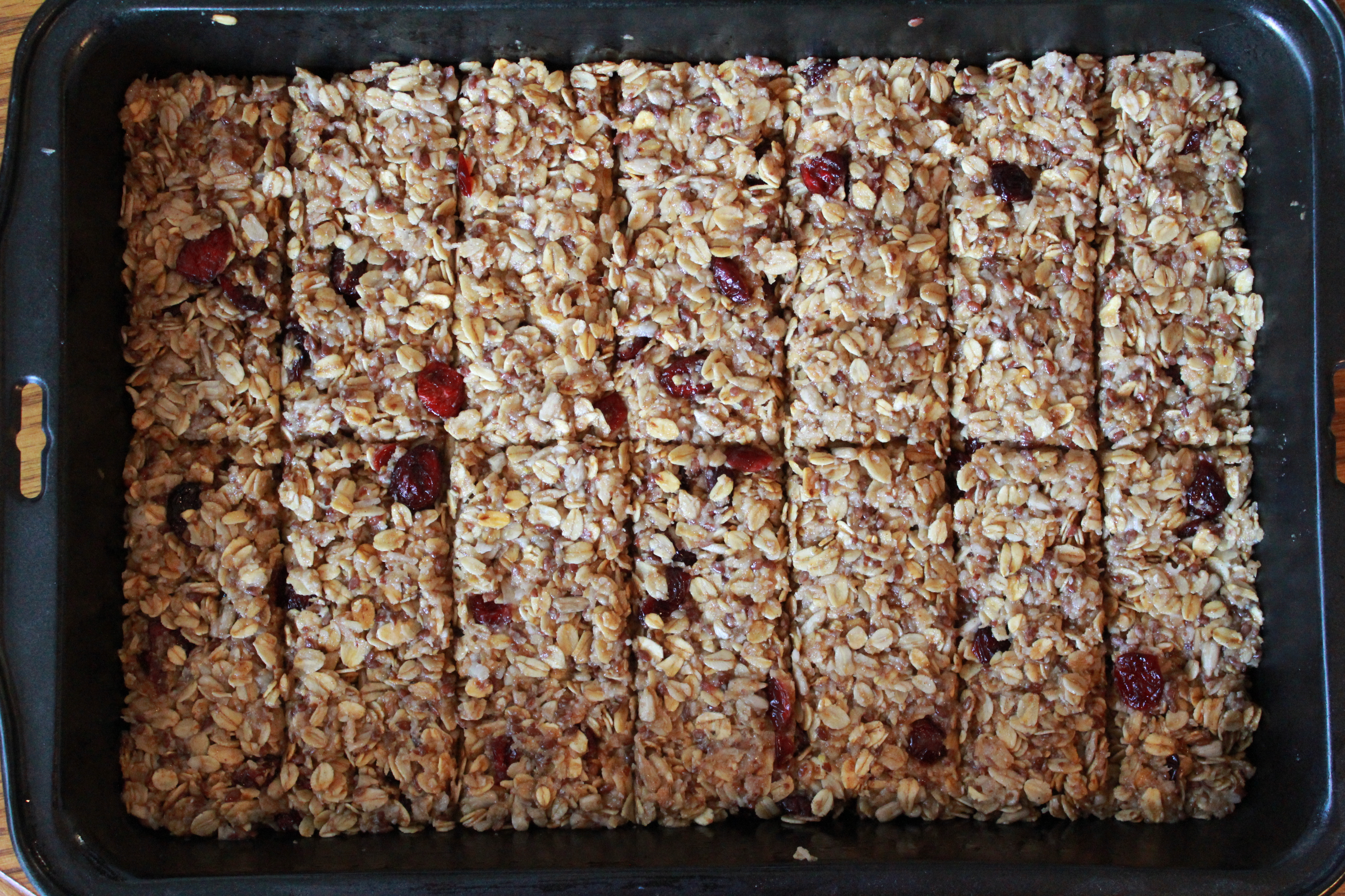 Chewy Fruit Breakfast Bars Love And Lentils