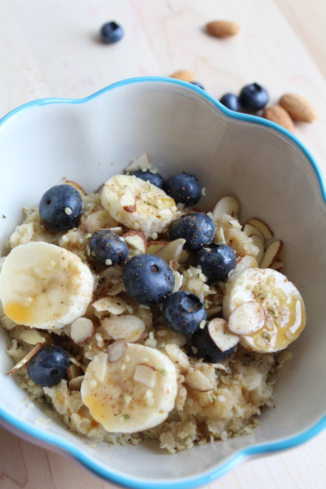 Hot Quinoa Breakfast Cereal