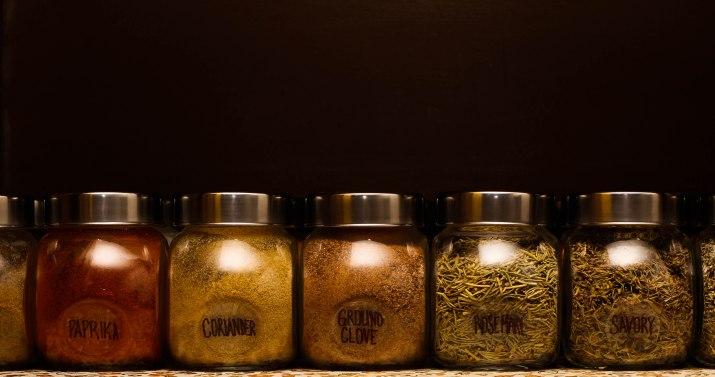 Organizing Spice Cabinet