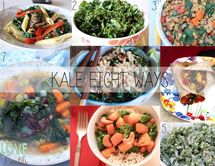 Kale Eight Ways