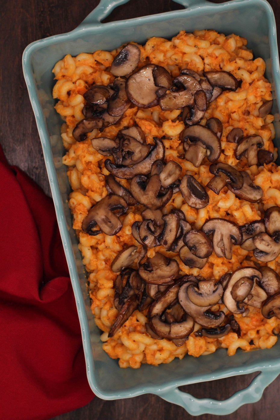 Vegan Sweet Potato Mac and Cheese