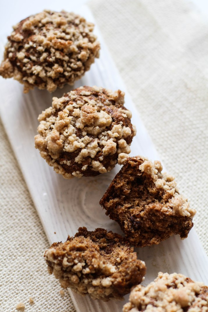 Banana Nut Crumb Muffins